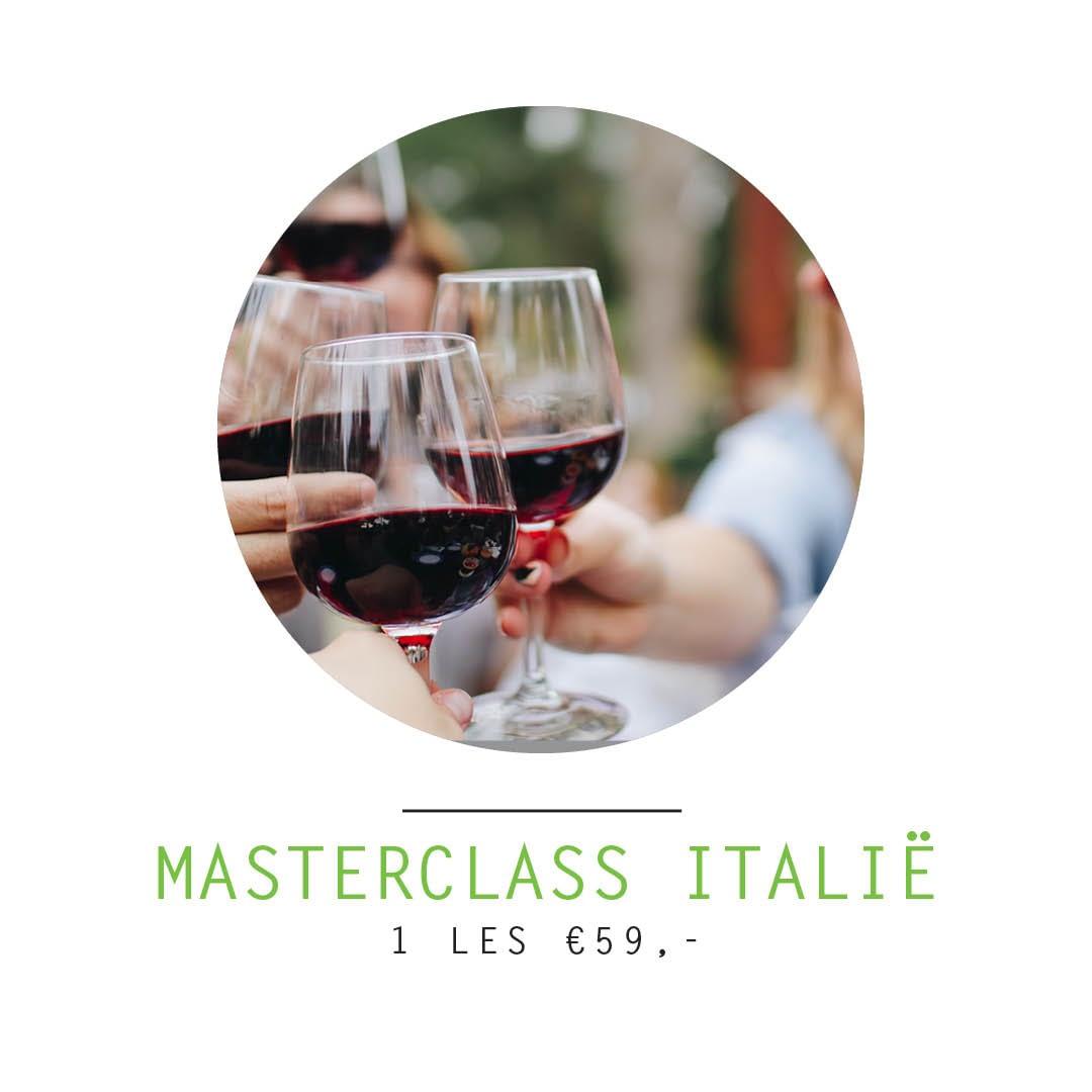 masterclass Italië